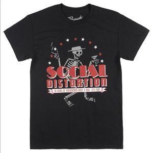 Social Distortion 30 Year Anniversary Tee Black